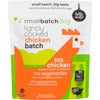 Small Batch Dog Frozen Lightly Cooked Food Chicken, 2lb