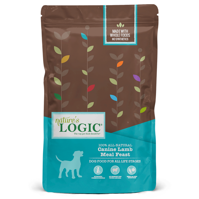Nature's Logic Original Grains Canine Dry Food Lamb Meal Feast