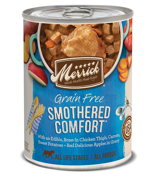Merrick Classic Grain Free Dog Can Food Smothered Comfort
