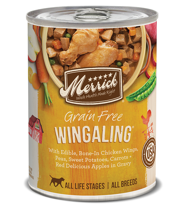 Merrick Classic Grain Free Dog Can Food Wingaling