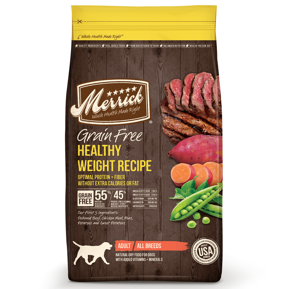 Merrick Grain Free Dog Dry Food Healthy Weight