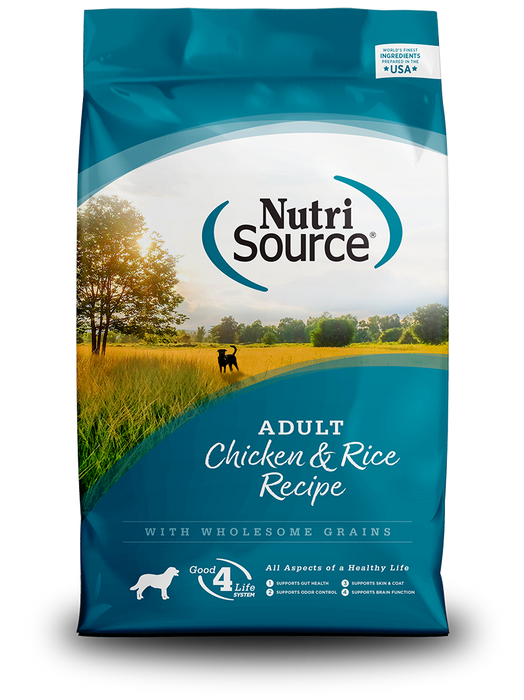 NutriSource Dog Grains Dry Food Chicken & Rice Adult