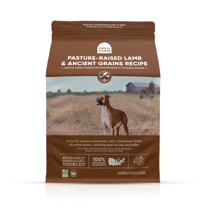 Open Farm Ancient Grains Dog Dry Food Lamb