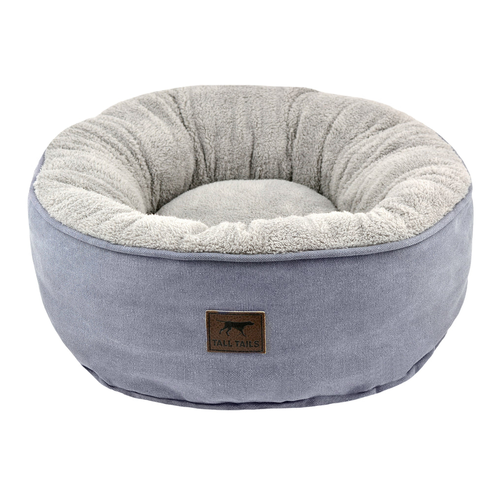 Tall Tails Dream Chaser Donut Bed Charcoal