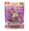 Primal Dog Treats Jerky Nibs Chicken