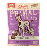 Primal Dog Treats Jerky Nibs Turkey