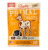 Primal Dog Treats Snaps Pork Liver