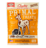 Primal Dog Treats Snaps Buffalo Liver