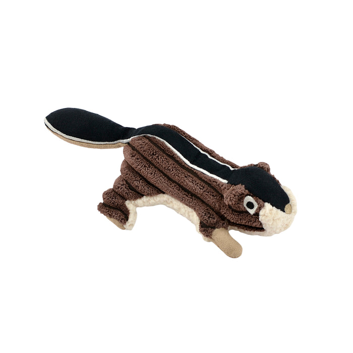 Tall Tails Dog Plush Squeaker Toy Chipmunk 5''