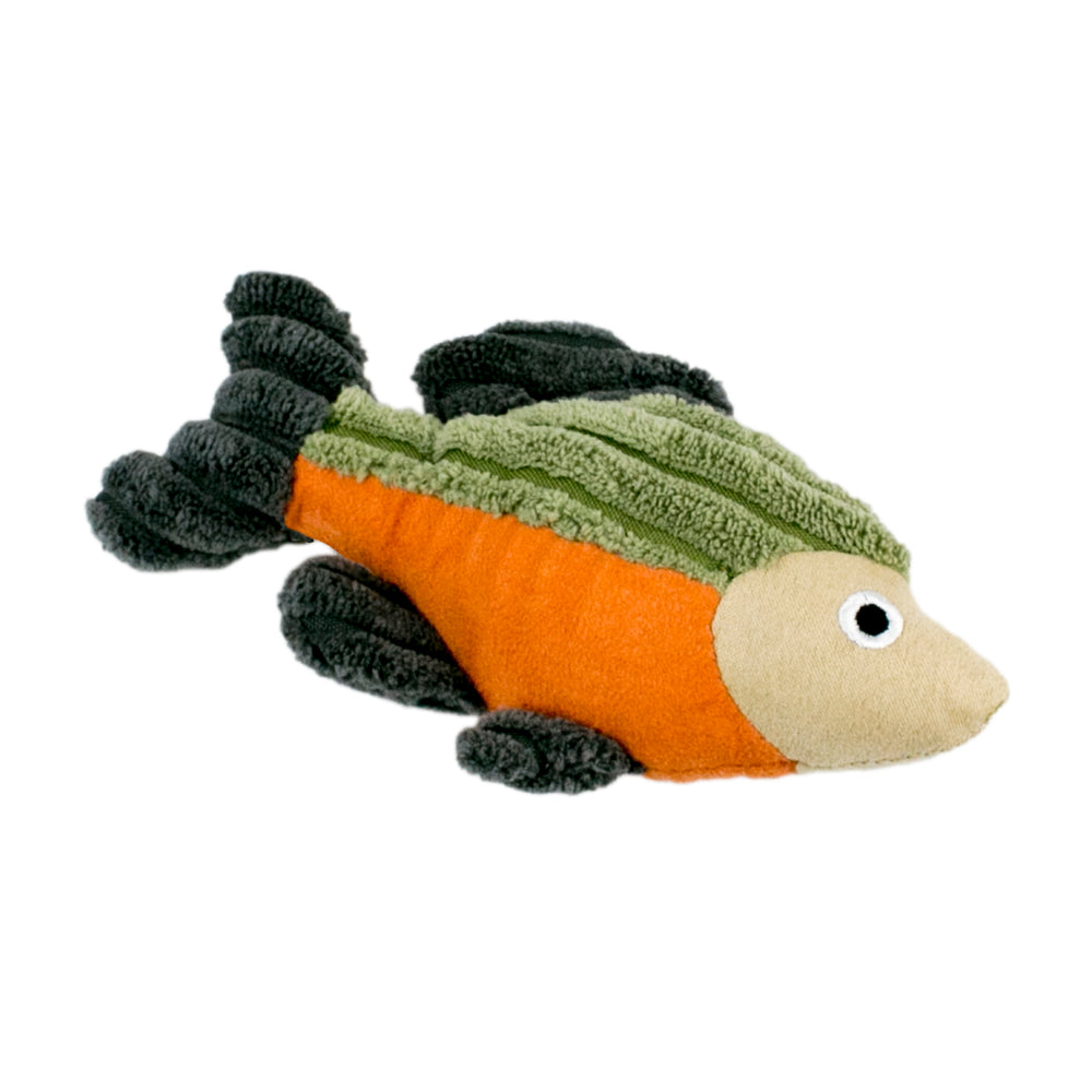 Tall Tails Dog Plush Squeaker Toy Fish 5''