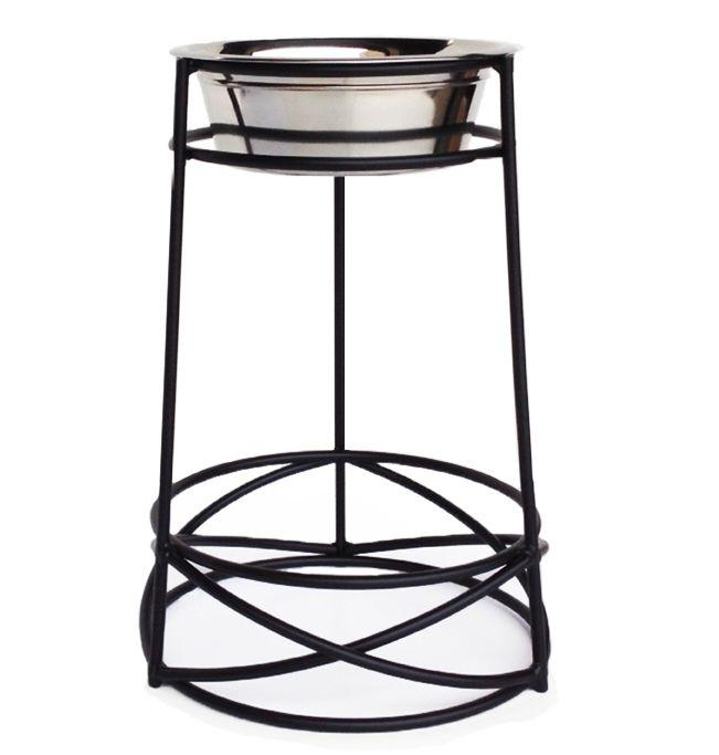 "Wrought Iron Wire Mesh Raised Single Diner, XX-Large (18""L-11.5""W-18""H)"