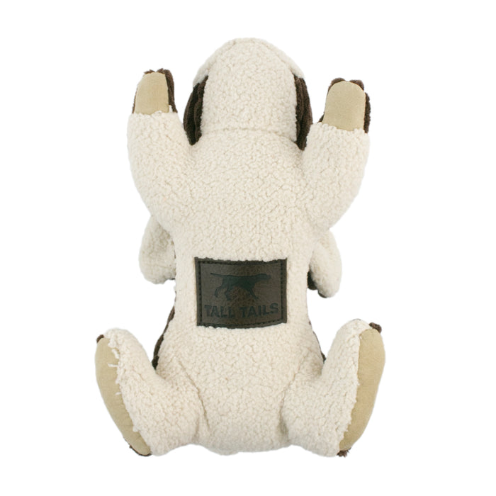 Tall Tails Dog Plush Squeaker Toy Rabbit 9''