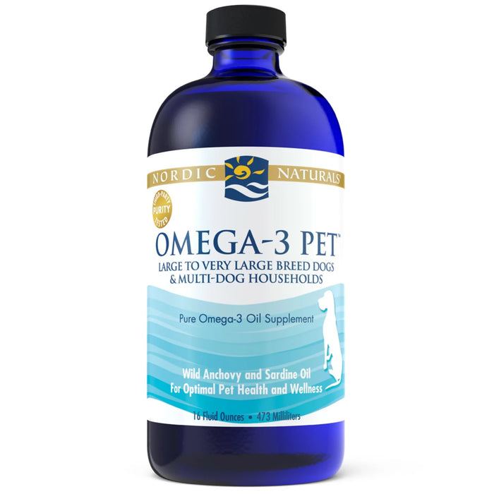 Nordic Naturals Omega-3 Pet Supplement Medium & Large Dog