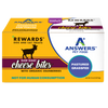 Answers Rewards Frozen Raw Fermented Goat Milk Cheese Treats with Cranberry, 8oz