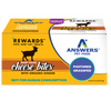 Answers Rewards Frozen Raw Fermented Goat Milk Cheese Treats with Ginger, 8oz