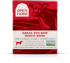 Open Farm Dog Food Rustic Stew Beef 12.5oz, case of 12