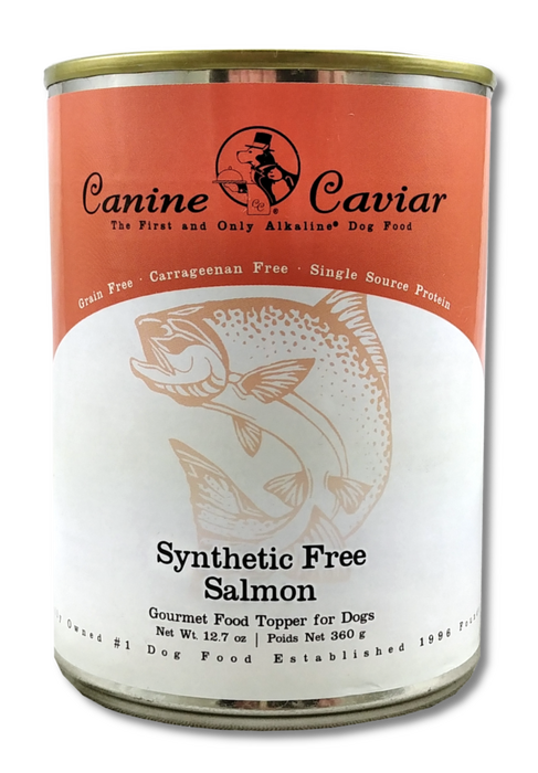 Canine Caviar Dog Grain Free Wet Food Wild Salmon 13oz, case of 12