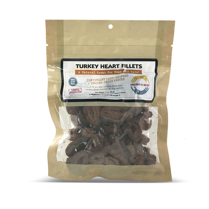 Fresh is Best Turkey Heart Fillets, 3oz