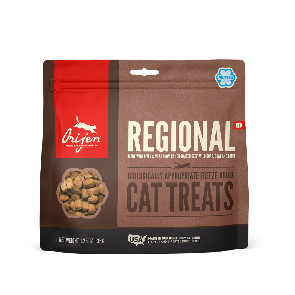 Orijen Cat Freeze Dried Treats Regional Red