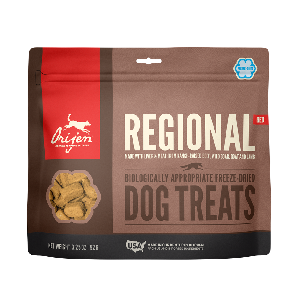 Orijen Dog Freeze Dried Treats Regional Red