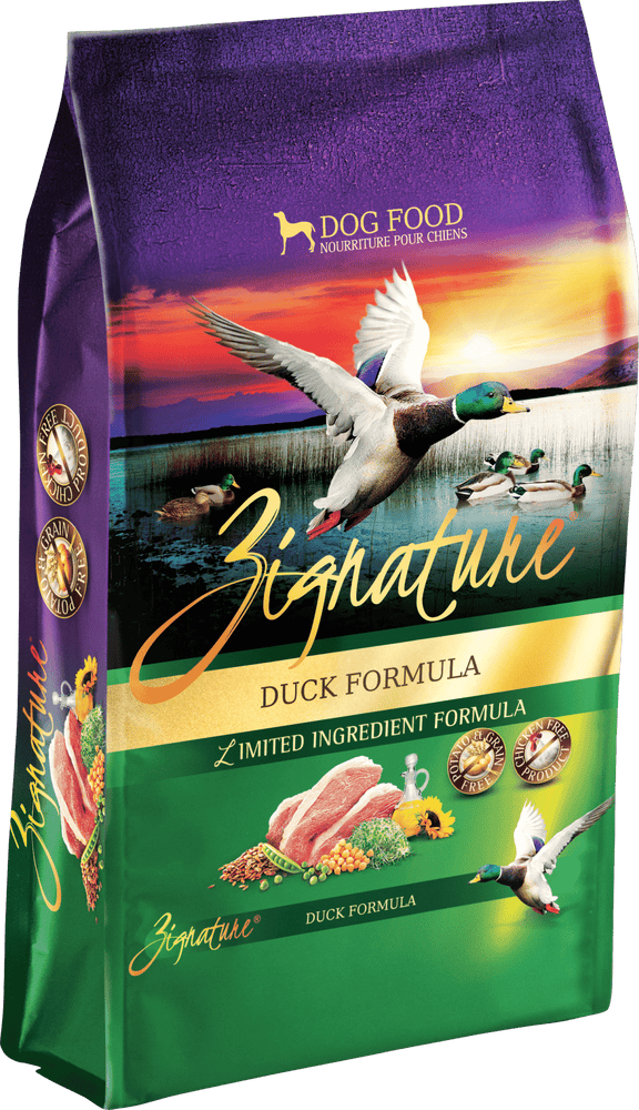 Zignature Grain Free Dog Dry Food Limited Ingredient Duck
