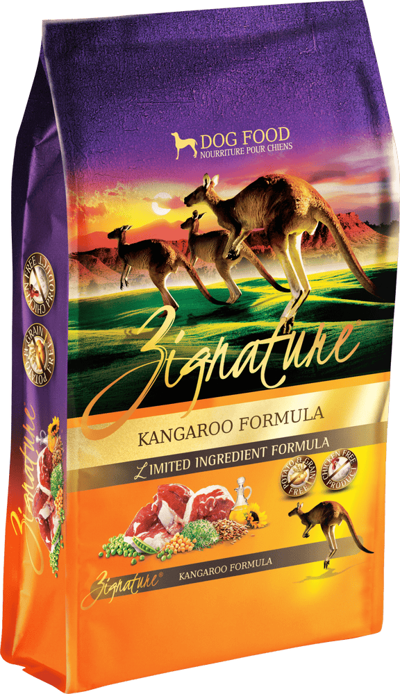 Zignature Grain Free Dog Dry Food Limited Ingredient Kangaroo