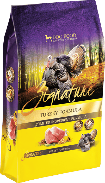 Zignature Grain Free Dog Dry Food Limited Ingredient Turkey