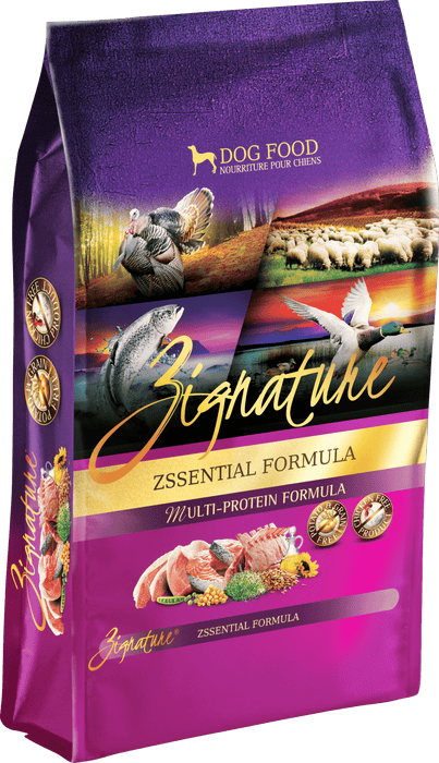 Zignature Grain Free Dog Dry Food Zssential Multi Protein