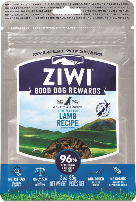 Ziwi Peak Dog Rewards Treats Lamb