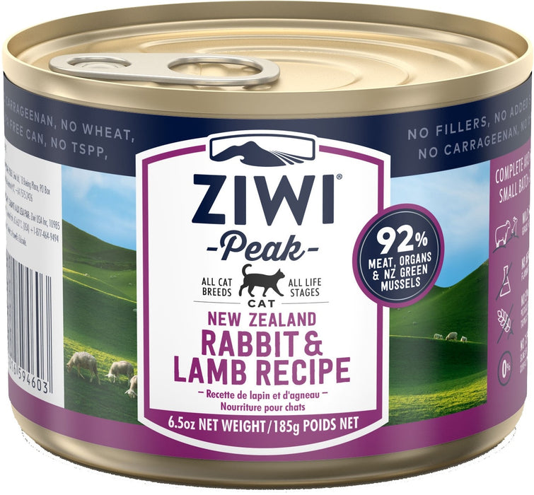 Ziwi Peak Grain Free Cat Can Food Rabbit & Lamb