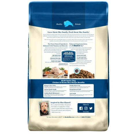 Blue Buffalo Life Protection Dog Grains Dry Food Chicken Adult
