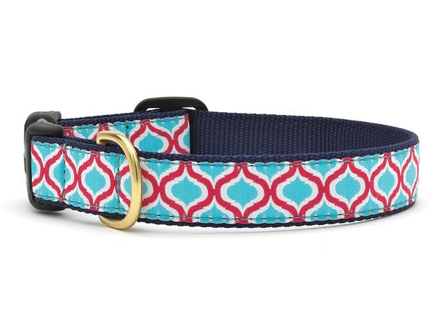 Up Country Dog Collar Blue Kismet