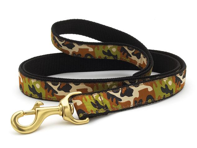 Up Country Dog Leash Camo