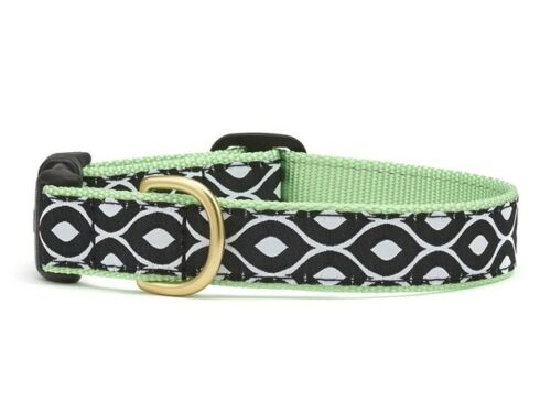 Up Country Dog Collar Contour Lime