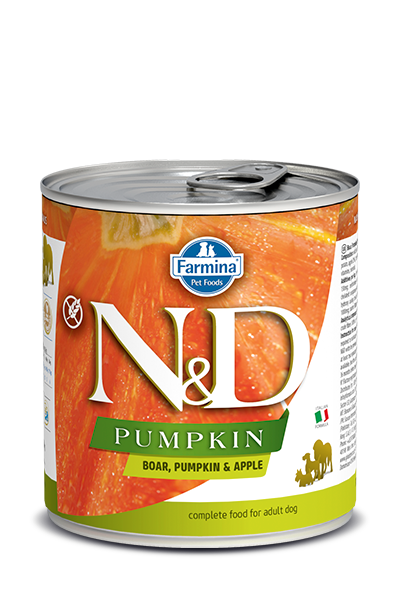 Farmina N&D Pumpkin Grain Free Dog Can Food Boar & Apple Med/Maxi