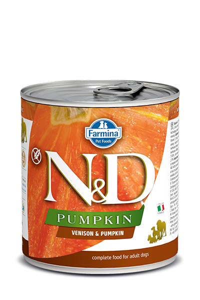 Farmina N&D Pumpkin Grain Free Dog Can Food Venison Med/Maxi