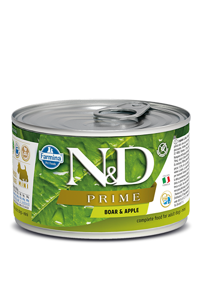 Farmina N&D Prime Grain Free Dog Can Food Boar & Apple Mini