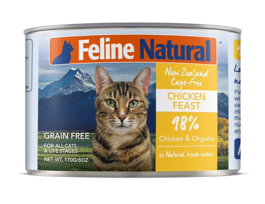 Feline Natural Grain Free Cat Can Food Chicken
