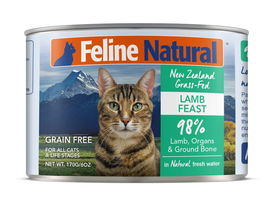Feline Natural Grain Free Cat Can Food Lamb