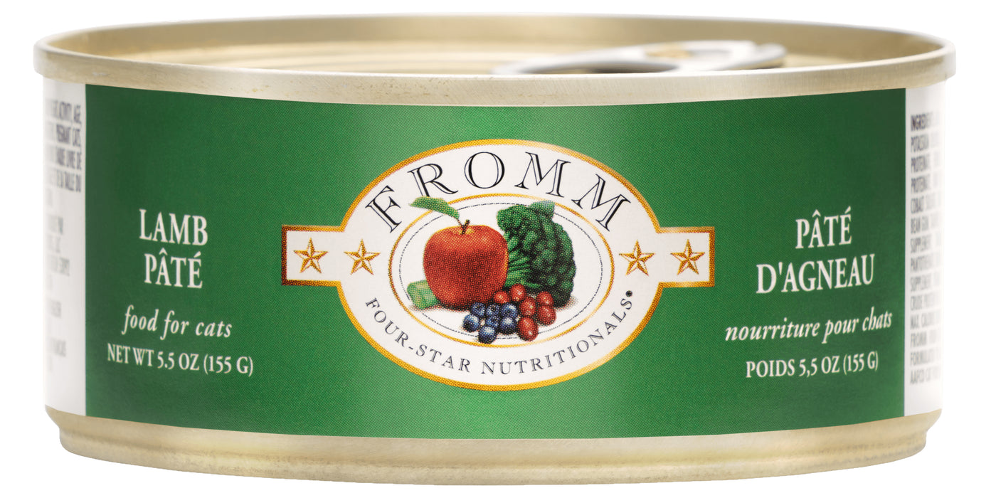 Fromm Four Star Grains Cat Can Food, Pate Lamb