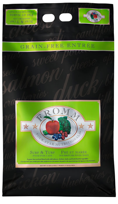 Fromm Four Star Grain Free Cat Dry Food Surf & Turf
