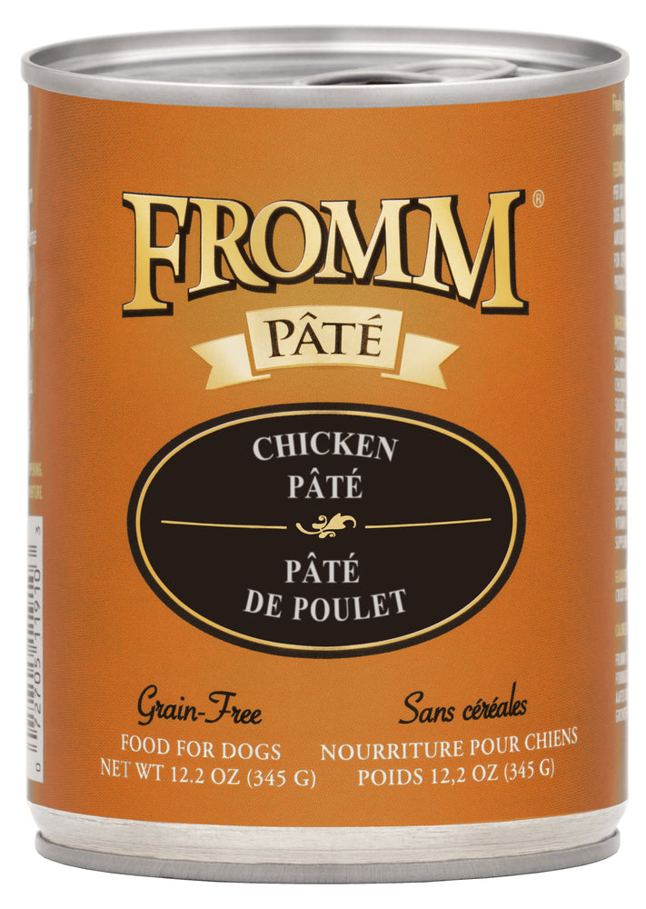 Fromm Grain Free Dog Can Food, Pate Chicken