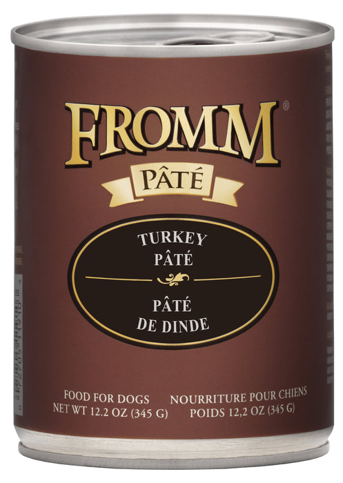 Fromm Grains Dog Can Food, Pate Turkey