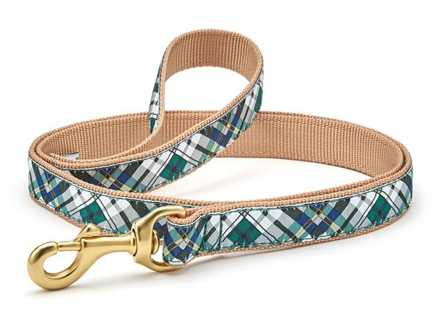 Up Country Dog Leash Gordon Plaid