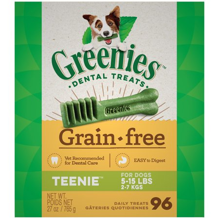 Greenies Grain Free Dog Dental Treats Teenie