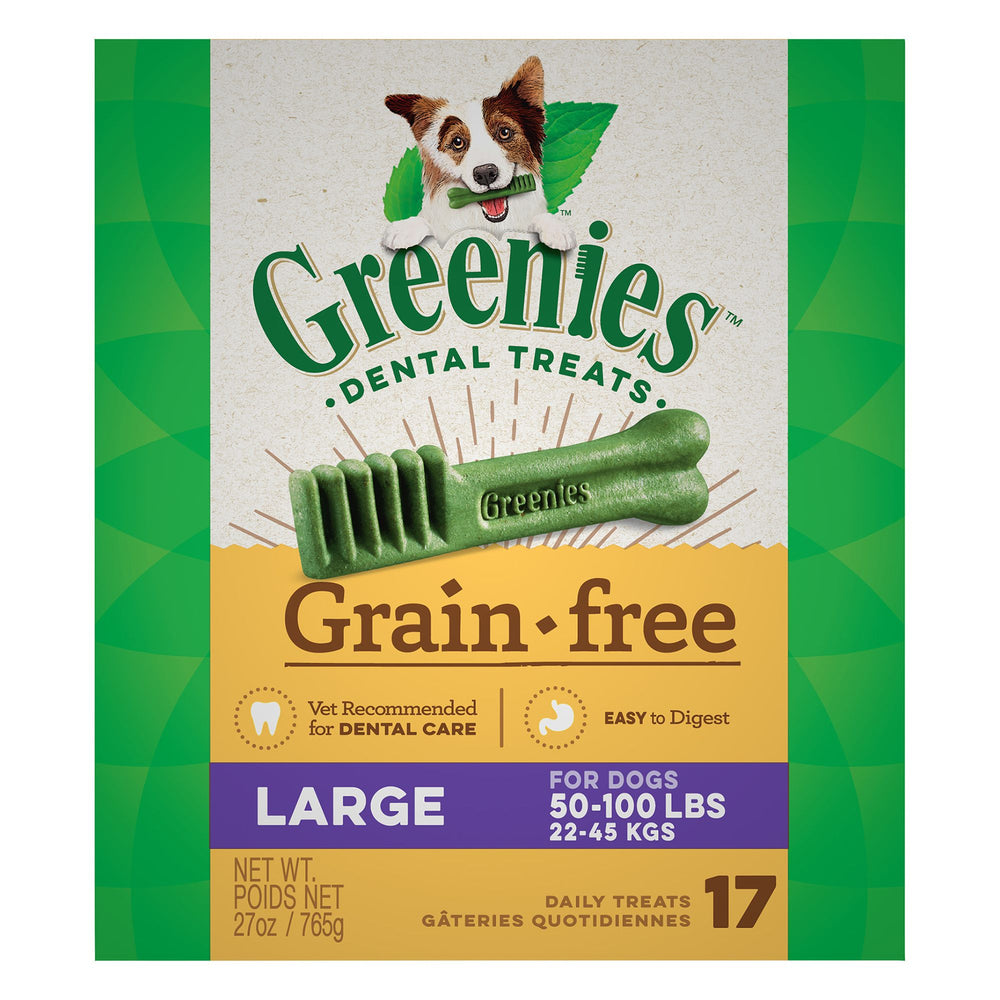 Greenies Grain Free Dog Dental Treats Large
