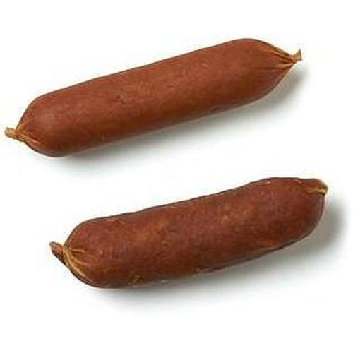 "Happy Howie Dog Treats Beef Sausage 4"", Single"