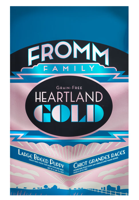 Fromm Heartland Gold Grain Free Dog Dry Food Large Breed Puppy