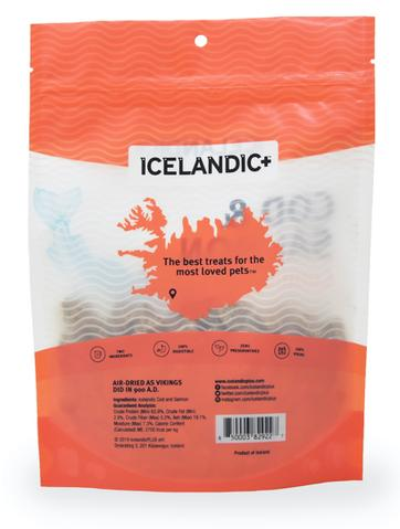 Icelandic Combo Bites Dog Treat Cod & Salmon, 3.52oz