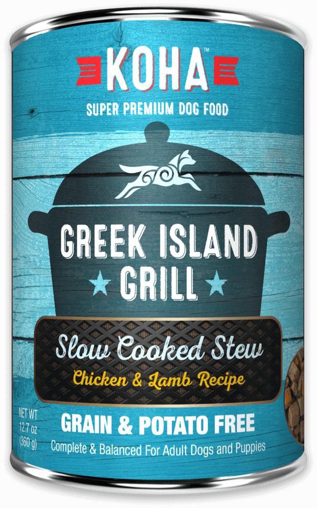Koha Slow Cooked Stew Dog Grain Free Can Food Greek Island